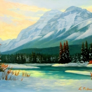 3.pullmanmacdonald_mt.kidd_.winter_12x16