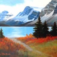Bow Lake Path