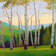 Shades of Green 20x36